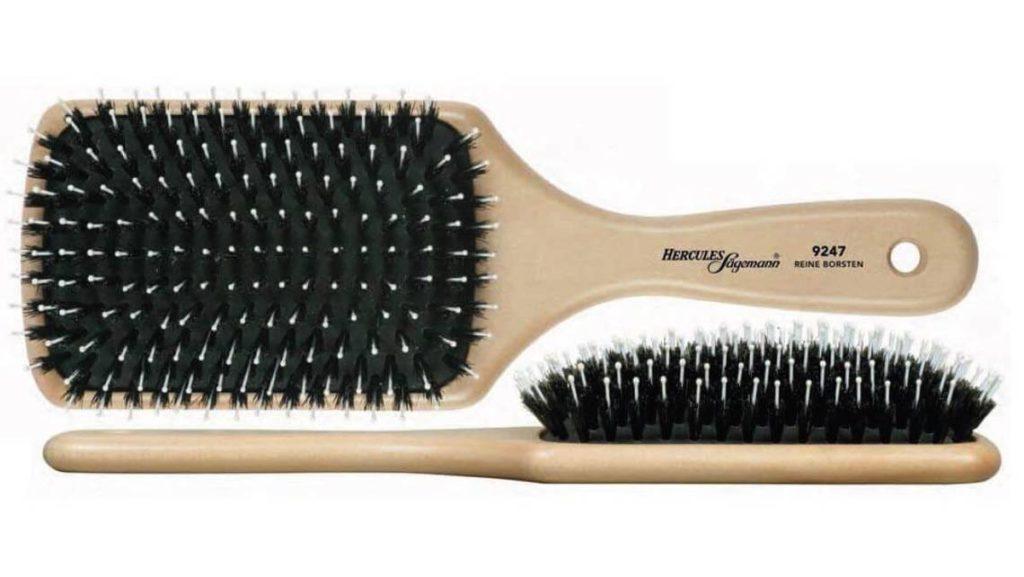 Haarbürste mit Naturborsten