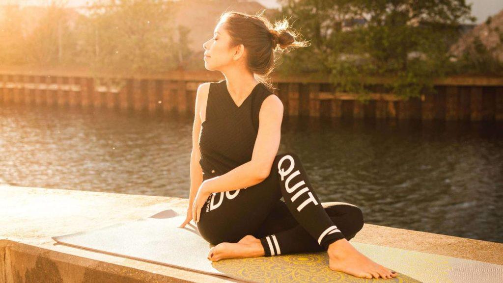 Beispiel Bild, Yoga für Stressabbau