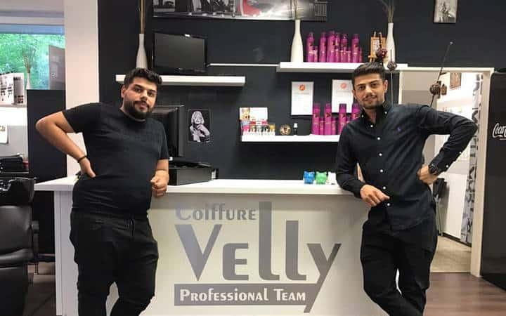 Coiffure Velly bis hin zum Saloninhaber - Dimitrios & Symeon Iatrou, Salon Hemmingen