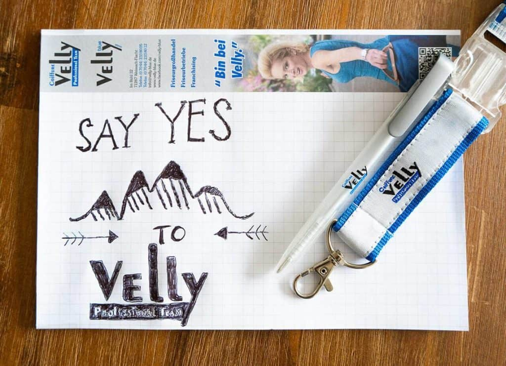 say yes to Coiffure Velly