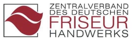 Logo Zentralverband des deutschen friseur handwerks