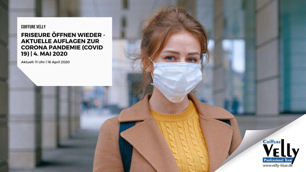 Aktuelle Informationen zum Corona Virus 2020 Friseursalons