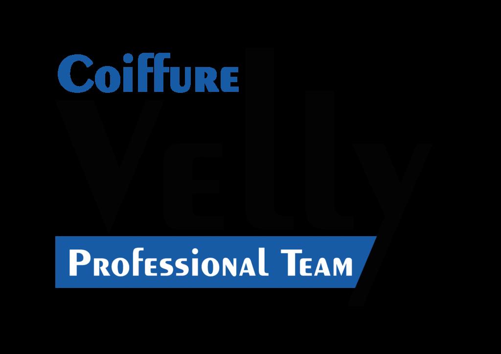 Velly Blue Logo, Franchise, Friseur