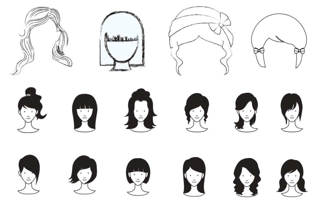 Frisuren im Überblick