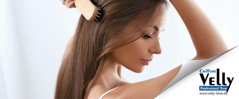 Shampoo als Antwort auf gesunde Haarstrukturen
